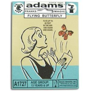 Amazing Flying Butterflys S.S. Adams