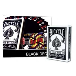 Bicycle Black Deck