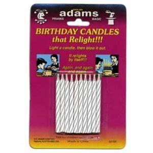 Birthday Candles that Relight