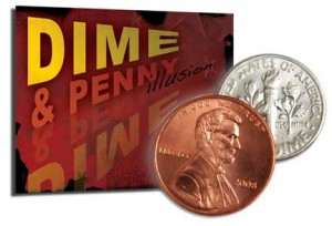 Dime & Penny Illusion