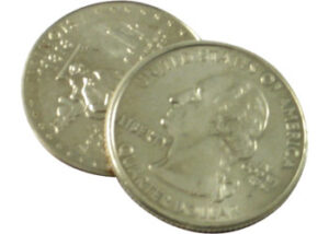 Flipper Coin Quarter