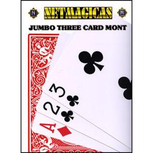 Jumbo Three Card Monte (Red)