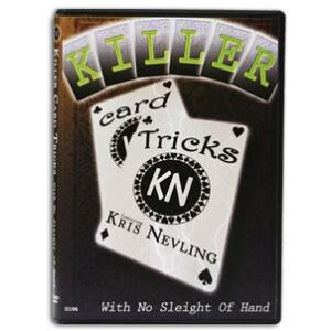 Killer Card Tricks with No Sleight of Hand DVD
