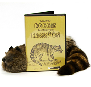 Robbie Raccoon & DVD