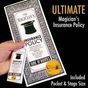 Ultimate Magician's Insurance Policy