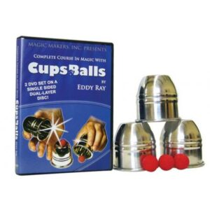 Cups & Balls Combo 2 DVD set