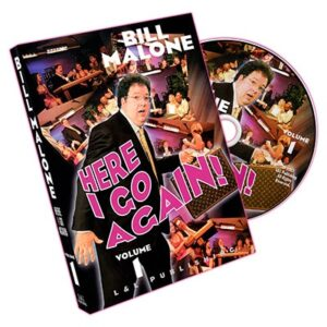 Here I go again Bill Malone Vol 1 DVD